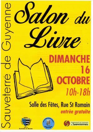 Affiche salon du livre 16 10 2016